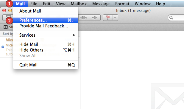 how to delete email address from drop-down list mac
